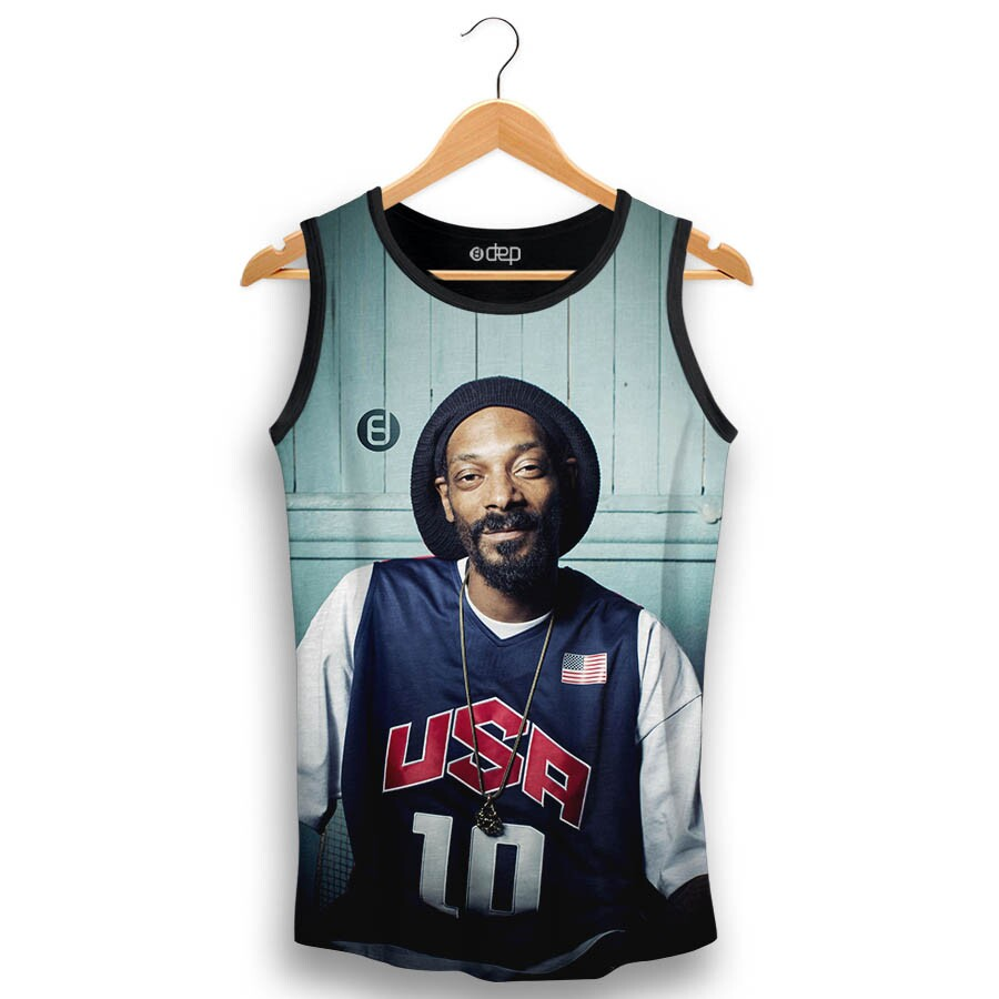 Regata Dep Snoop Dogg Usa Preta