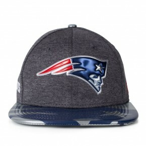 Boné New Era Snapback England Patriots Original Fit Cinza