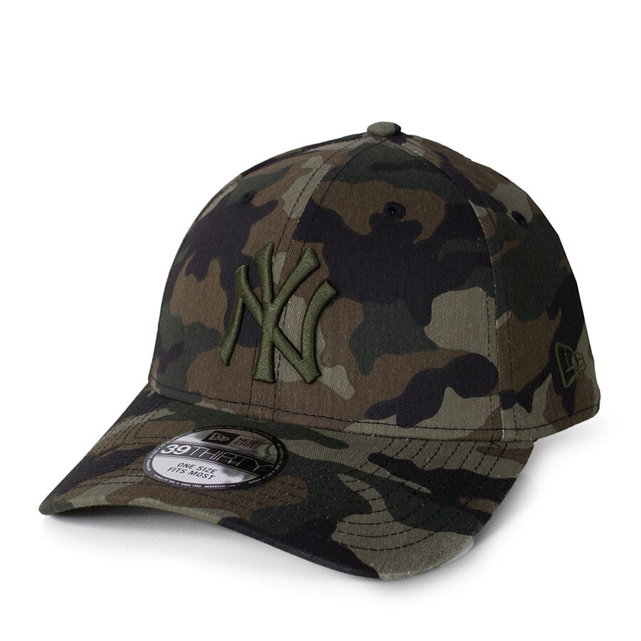 Boné New Era 39Thirty New York Yankees Camo Verde