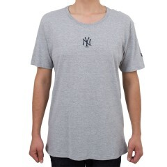 Camiseta New Era New York Yankees Mini Logo Cinza