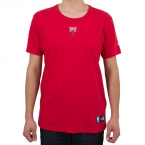 Camiseta New Era Chicago Bulls Mini Logo II Vermelha