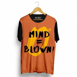 Camiseta Dep Mind = Blow Laranja