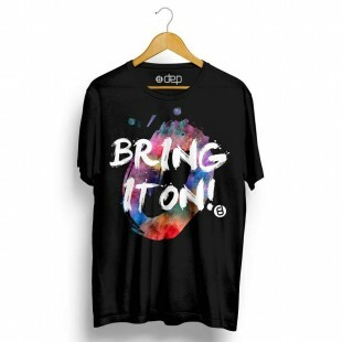 Camiseta Dep Bring It On Preta