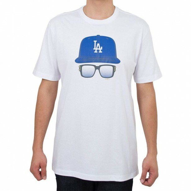 Camiseta New Era Los Angeles Dodgers Branco