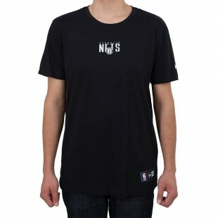 Camiseta New Era Brooklyn Nets Preta