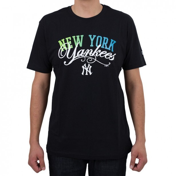 Camiseta New Era New York Yankees Preta