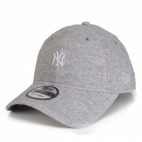 Boné New Era Strapback New York Yankees Mini Logo Aba Curva Cinza