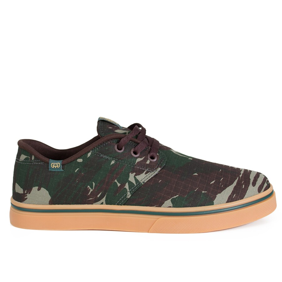 Tênis Hocks Del Mar Originals Ripstop Verde Camuflado