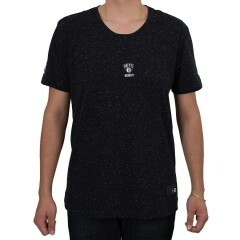 Camiseta New Era Brooklyn Nets Mini Logo Preta
