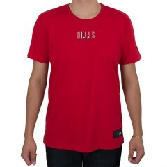 Camiseta New Era Chicago Bulls Fresh Marke Vermelha