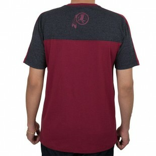 Camiseta New Era Washington Redskins Vinho / Cinza