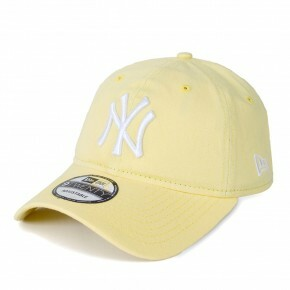 Boné New Era Strapback New York Yankees Aba Curva Amarelo