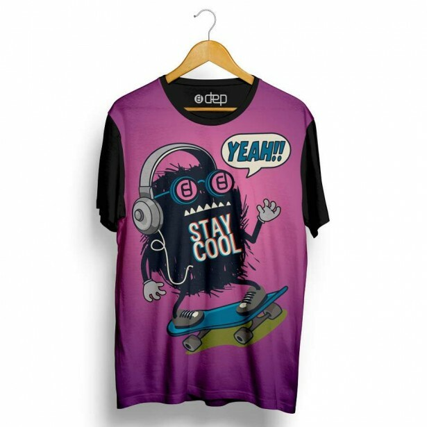 Camiseta Dep Stay Cool Roxa