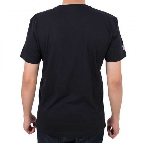 Camiseta New Era Oakland Raiders Fresh Mark Preto