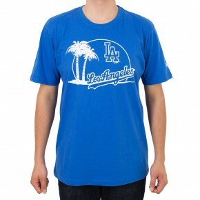 Camiseta New Era Los Angeles Dodgers City Royal