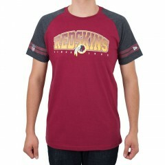Camiseta New Era Washington Redskins Vintage Vermelha