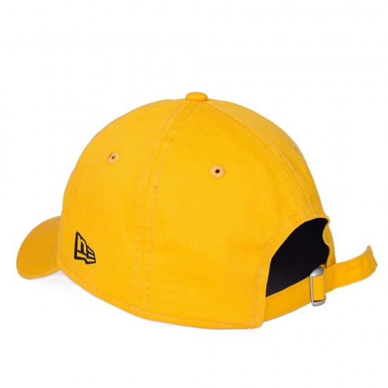 Boné New Era Strapback Pittsburgh Pirates Aba Curva Amarelo