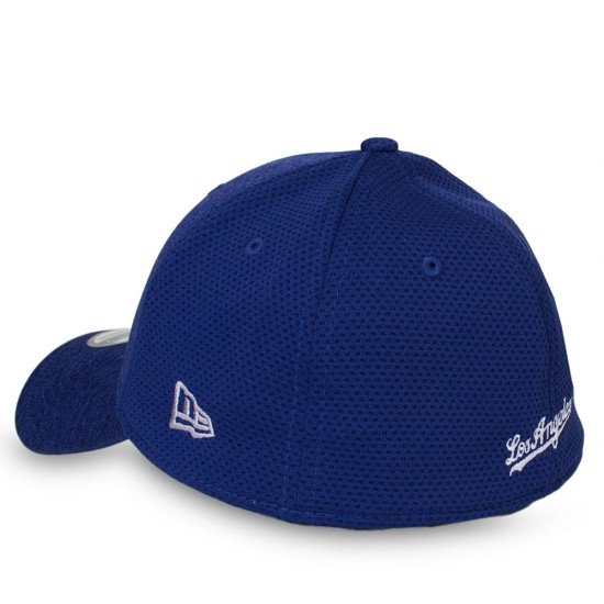 Boné New Era Los Angeles Dodgers 39Thirty Aba Curva Azul