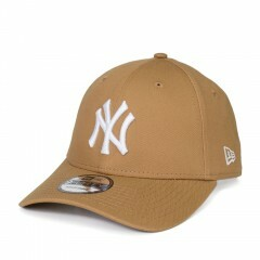 Boné New Era Snapback New York Yankees Aba Curva Marrom