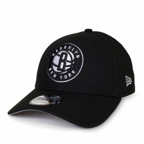 Boné New Era Snapback Brooklyn Nets Aba Curva Preto