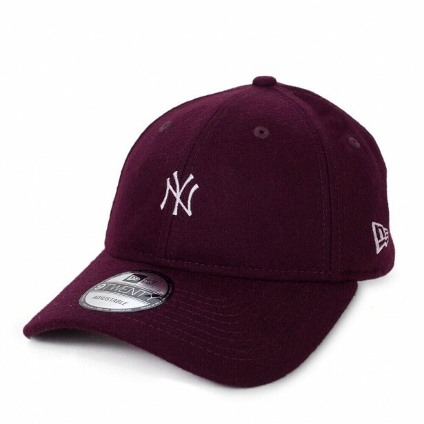 Boné New Era Strapback New York Yankees Aba Curva / Vinho