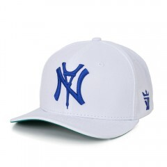 Boné Seven Brand Snapback New York X Paris Branco
