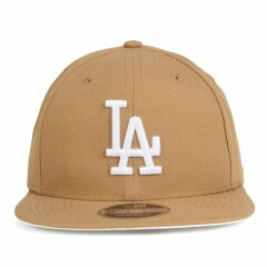 Boné New Era Snapback Los Angeles Dodgers Original Fit / Marrom