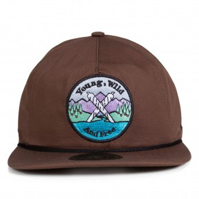 Boné Other Culture Strapback Woodstock Marrom