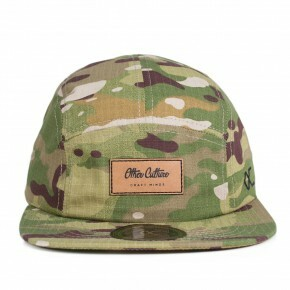 Boné Other Culture Strapback Camo Five Panel / Verde