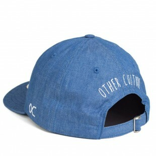 Boné Other Culture Strapback Fuck Off Aba Curva / Jeans