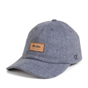 Boné Other Culture Strapback Warmup Dad Hat Cinza