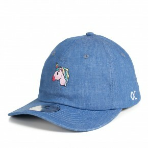 Boné Other Culture Strapback  Unicorn Aba Curva / Jeans
