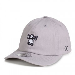 Boné Other Culture Strapback Teddy Aba Curva / Cinza