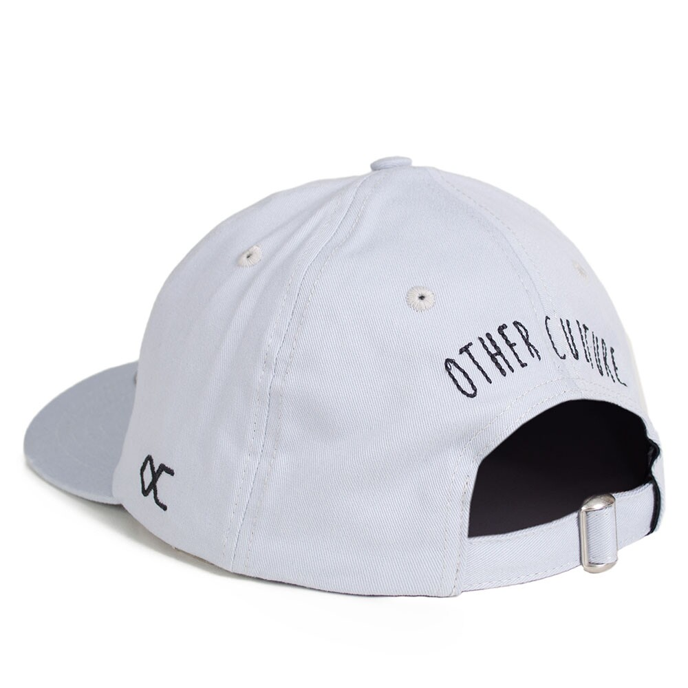 Boné Other Culture Strapback Polo Sword Aba Curva /  Cinza