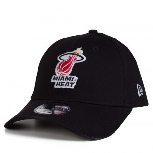 Boné New Era Miami Heat 39 Thirty  Aba Curva / Preto