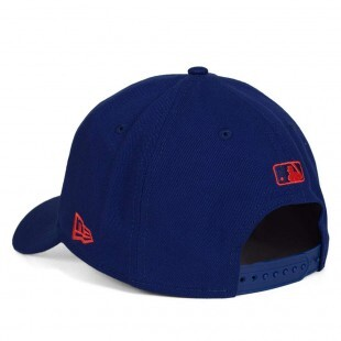 Boné New Era Snapback Los Angeles Dodgers Aba Curva / Azul