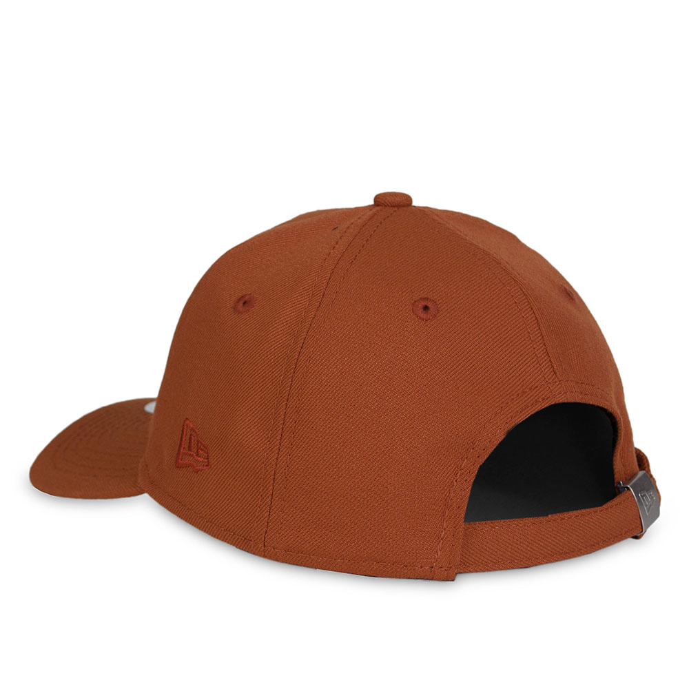 Boné New Era Strapback New York Yankees Aba Curva / Laranja