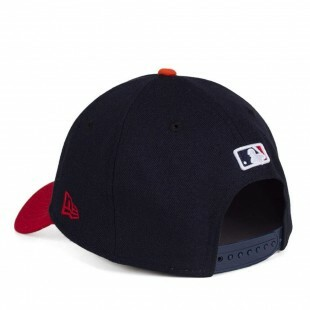 Boné New Era Snapback Boston Red Sox Aba Curva / Marinho