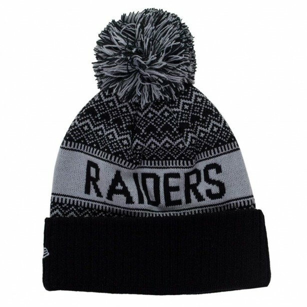 Gorro New Era Oakland Raiders Cinza