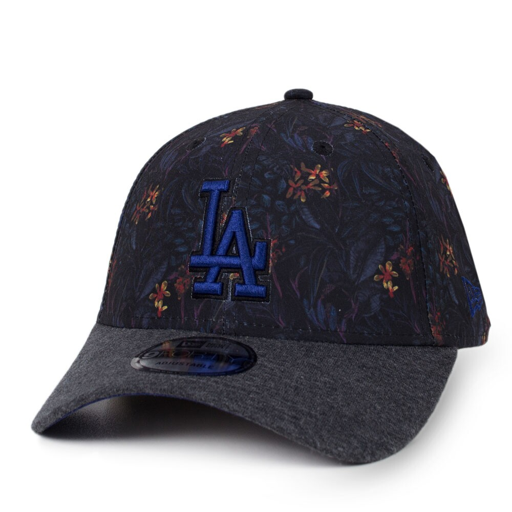 Boné New Era Snapback Los Angeles Dodgers Floral Marinho