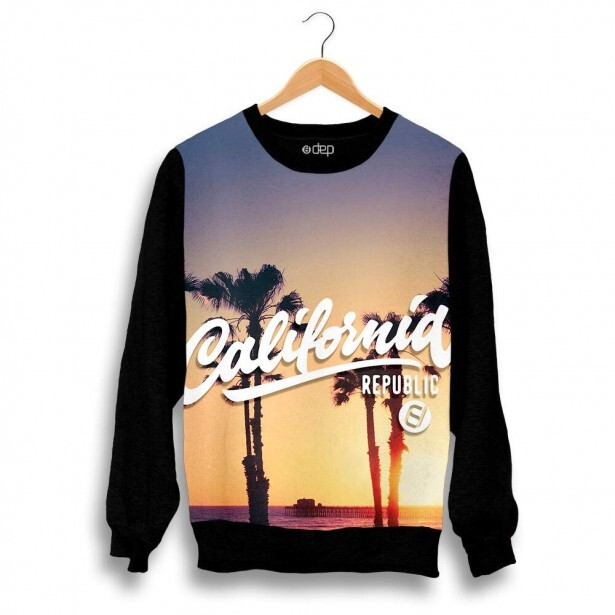 Blusa Dep California Republic Por do Sol