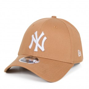 Boné New Era 39Thirty New York Yankees Aba Curva Marrom