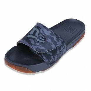 Chinelo New Era Slip-on Branded Chumbo