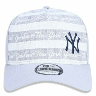 Boné New Era Snapback New York Yankees MLB Cinza