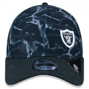 Boné New Era Snapback Oakland Raiders Preto NFL