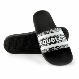 Chinelo Double-G Slide Pasley Preto