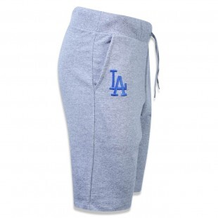 Bermuda New Era Los Angeles Dodgers Versatile Moletom Mescla