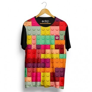Camiseta Dep Lego Colorida