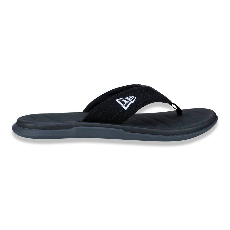 Chinelo New Era Dedo Logo Preto
