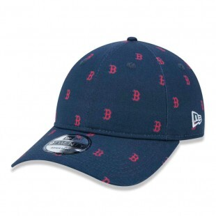 Boné New Era Strapback Boston Red Sox 9Twenty Marinho